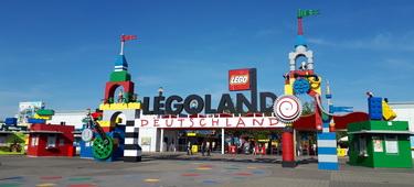 Legoland Deutschland Resort Eingangsbereich