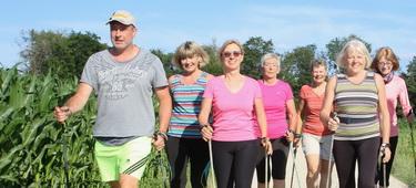 Nordic-Walker in Burgau