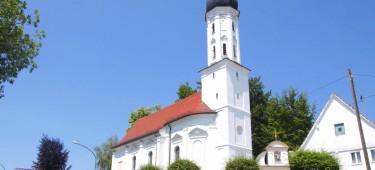 St. Leonhardskapelle Burgau Außenansicht