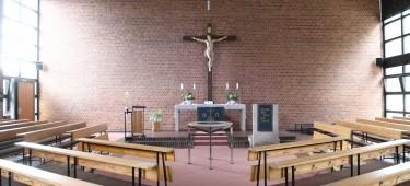 Evangelische Christuskirche Innenansicht