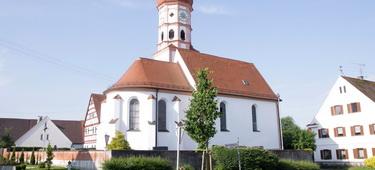 Kirche St Stephan in Limbach Außenansicht