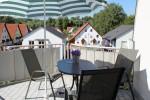 Ferienwohnung Paradies Balkon