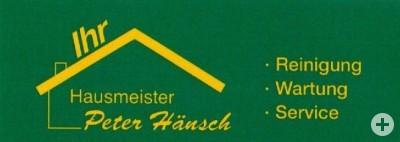 Ihr Hausmeister Peter Hänsch