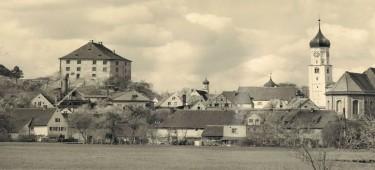 Stadtansicht um 1950