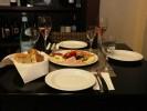 Italmec Feinkost gedeckter Tisch