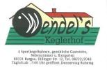 Wendel`s Keglerhof Logo