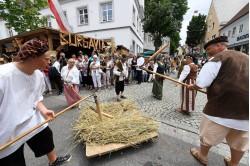 Festumzug Historisches Fest Burgau