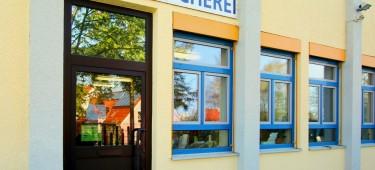 Stadtbücherei Burgau Außenansicht