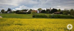 Ortsteil Kleinanhausen im April 2020
