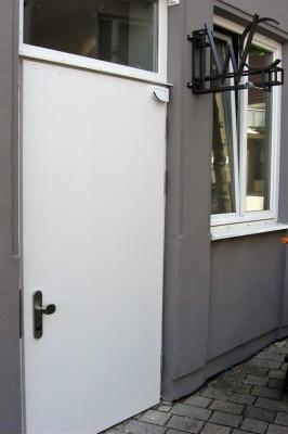 Öffentliche Toiletten Burgau Ansicht Gebäude außen